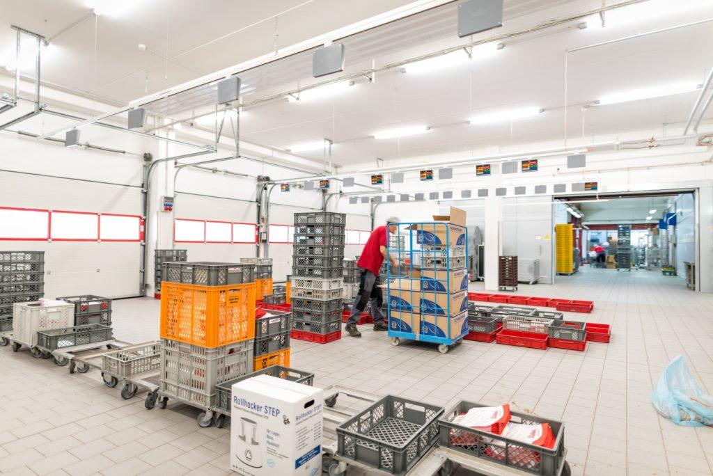 Elektrotechnik, Beleuchtungstechnik, Sicherheitstechnik, Netzwerktechnik Großbäckerei von Hennig & Maier